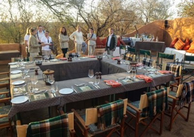 safari dinner