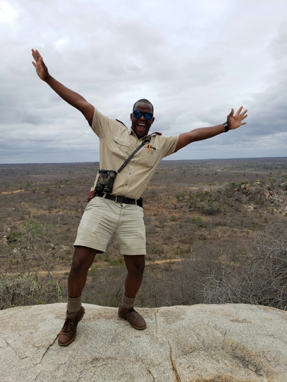 Past Bushwise student now working at the iconic Mala Mala Game Reserve