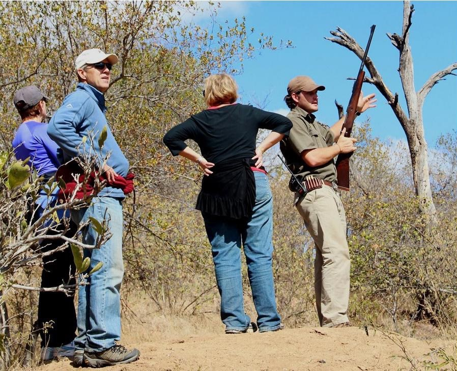 Advantages of field guiding for a researcher