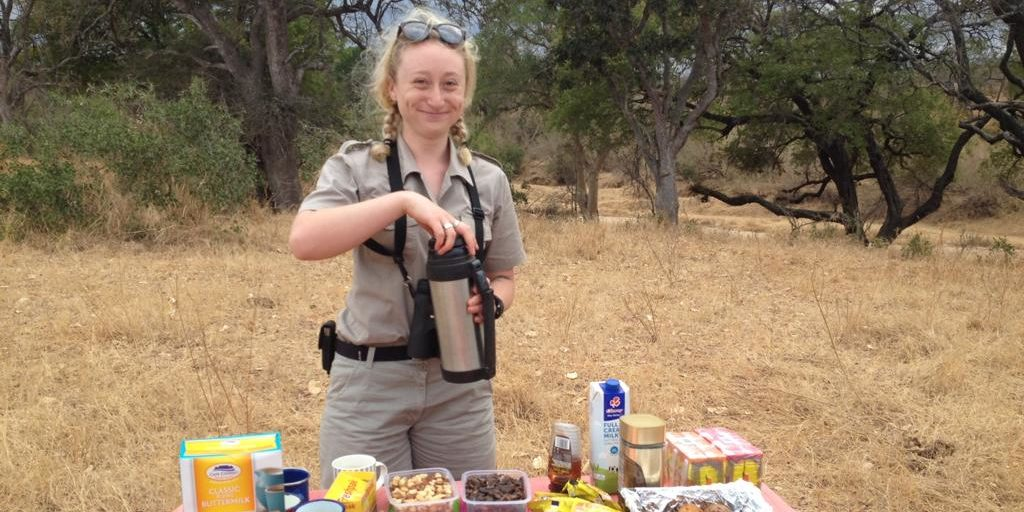 Working in South Africa as a field guide will have you eating traditional South African snacks.