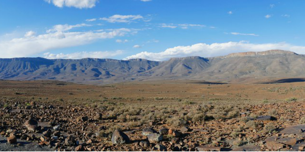 A Nama Karoo landscape.