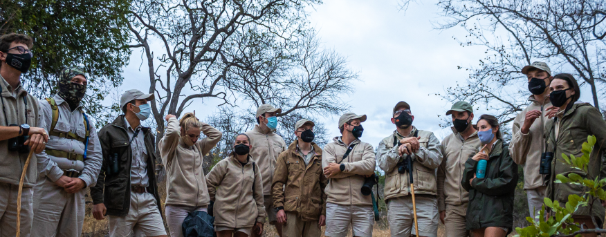 As a Bushwise student, you'll get to learn more about rhino conservation.